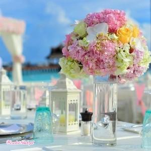 Piękne świeże kwiaty u Mariki