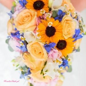 Dekoracje z kwiatów oraz bukiety - kwiaciarnia na Rogu